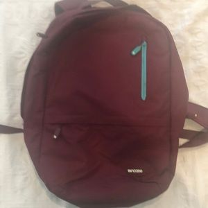 Incase Burgundy/Purple backpack
